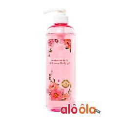 Sữa tắm hương nước hoa thiên nhiên The Nature Book Perfumed Bath & Shower Body Gel