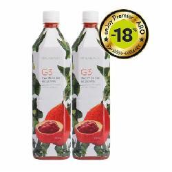 Nước gấc G3 Nuskin – Thực phẩm bảo vệ sức khỏe G3 (2 chai, 900 ml/chai)