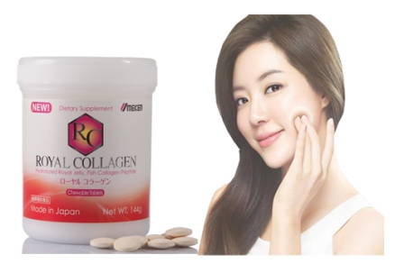 royal collagen 144g Nhật
