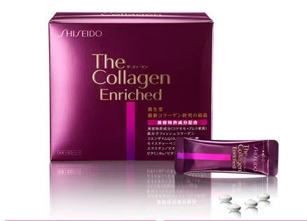 shiseido the collagen enriched