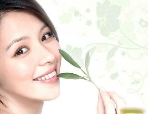 collagen trà xanh hanamai