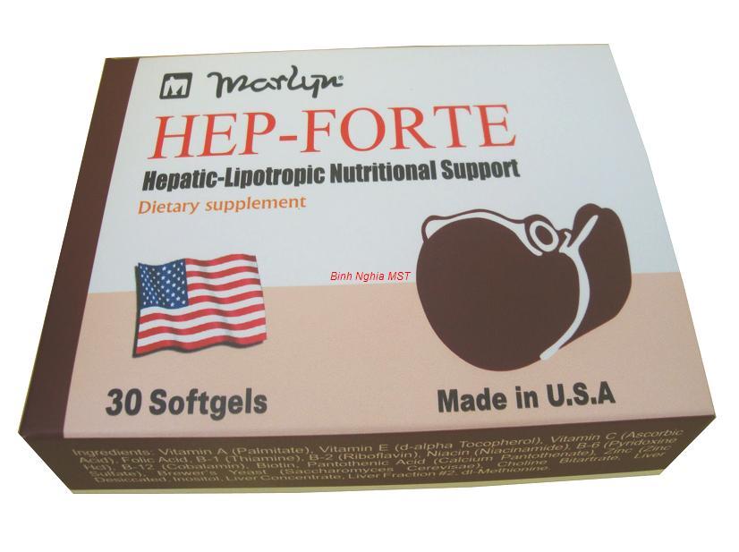 Viên uống bổ gan Hep-Forte