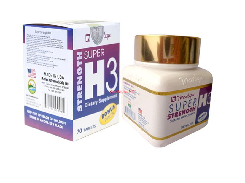 Thực phẩm chức năng Cải Lão Hoàn Đồng  Super  Strength H3