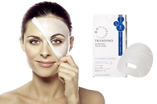 Hướng dẫn sử dụng mặt nạ Transino Whitening Facial Mask Nhật Bản