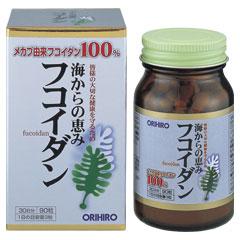 Tảo Fucoidan Orihiro Nhật Bản hộp 90 viên hỗ trợ điều trị ung thư