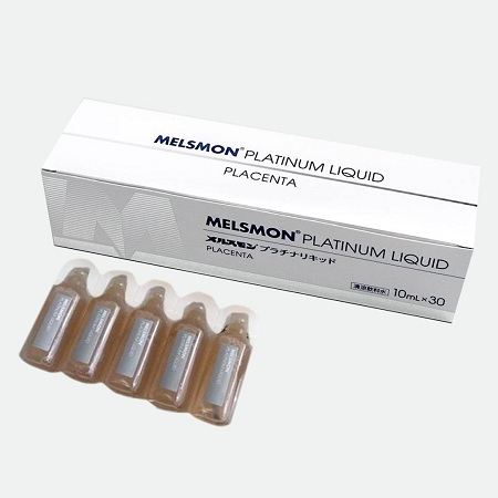 nhau thai ngựa melsmon platinum liquid placenta