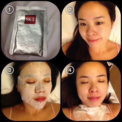 Review mặt nạ sk ii facial treatment 2