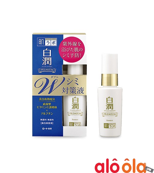 Serum Hadalabo Shirojyun Premium Whitening Essence 40ml