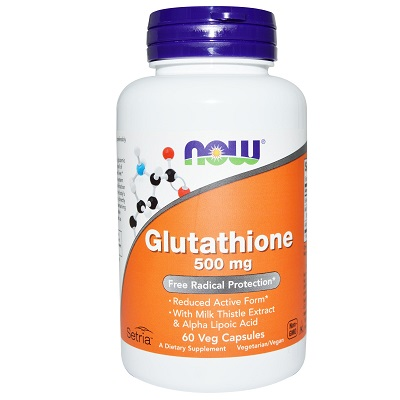 Glutathione Now 500mg 60 viên