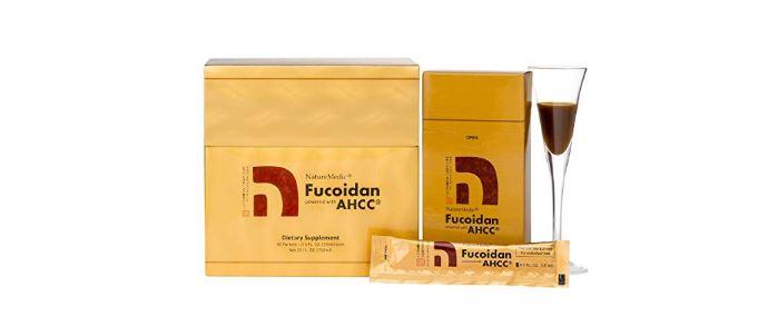 Công dụng tuyệt vời của NatureMedic Fucoidan AHCC dạng nước