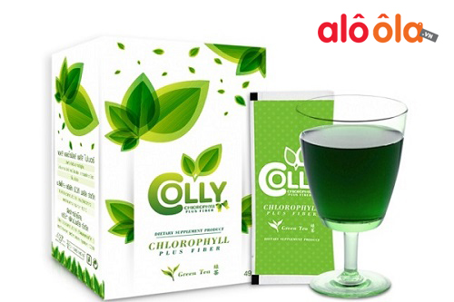 Trà xanh Colly Chlorophyll Plus Fiber