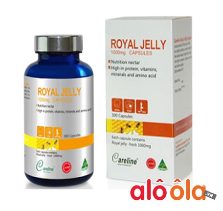 Sữa ong chúa Royal Jelly 1000mg Careline