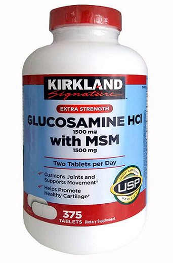 Glucosamine HCl 1500mg with msm 1500mg