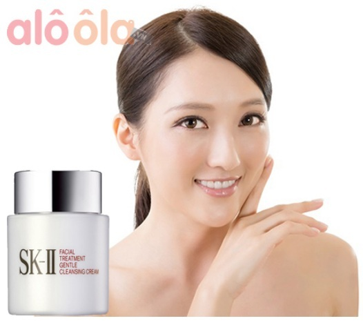 facial treatment gentle cleansing cream sk ii