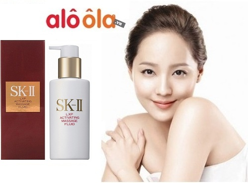 sk ii lxp activating massage fluid how to use
