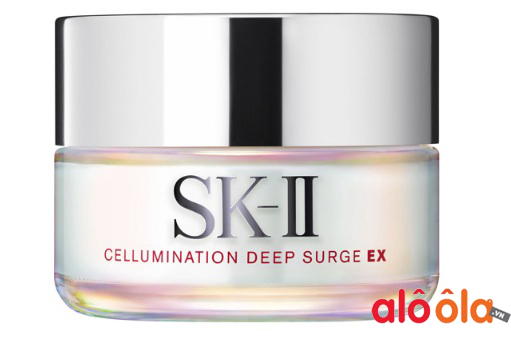 kem dưỡng sk-ii cellumination deep surge ex review