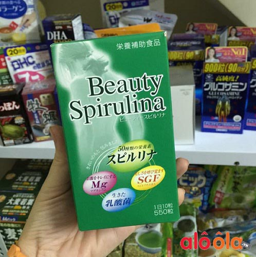 review tảo beauty spirulina