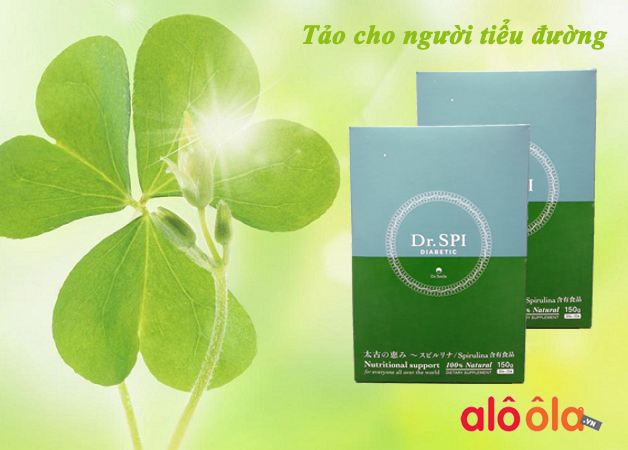 Review tảo spirulina Dr Spi Diabetic