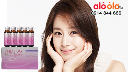 Collagen shiseido EX d?ng nu?c u?ng giúp h?p thu collagen t?t nh?t