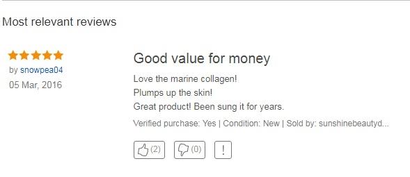 Review viên uống collagen Bio-Marine