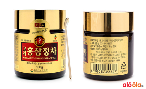 cao hồng sâm korean red ginseng extract tea 100g