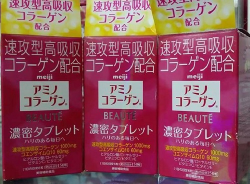 collagen meiji 150 viên