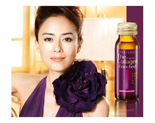 cách uống collagen shiseido enriched