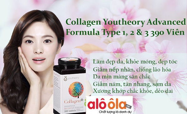 Reviews Collagen Youtheory Type 1 2 &3 của Mỹ