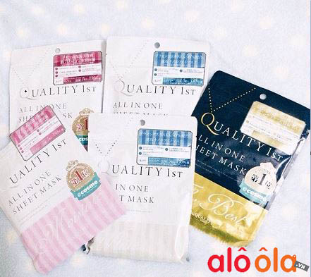 quality 1st all in one sheet mask the best