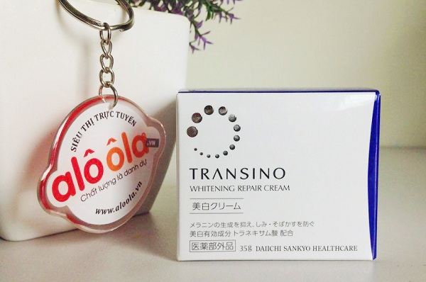 Review Kem Transino Whitening Repair Cream