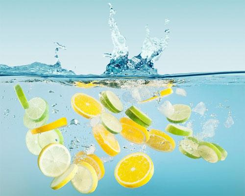 Nước chanh giảm béo mặt