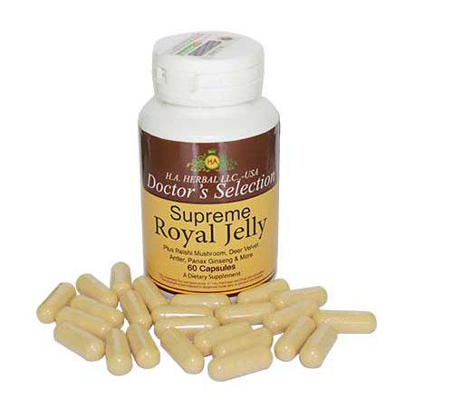 Viên Sữa ong chúa Supreme Royal Jelly của Mỹ